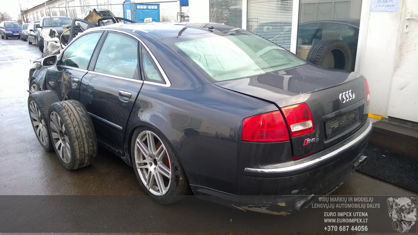 Naudotos automobilio dalys Audi A8 2003 4.2 Automatinė Sedanas 4/5 d. Melyna 2014-12-30