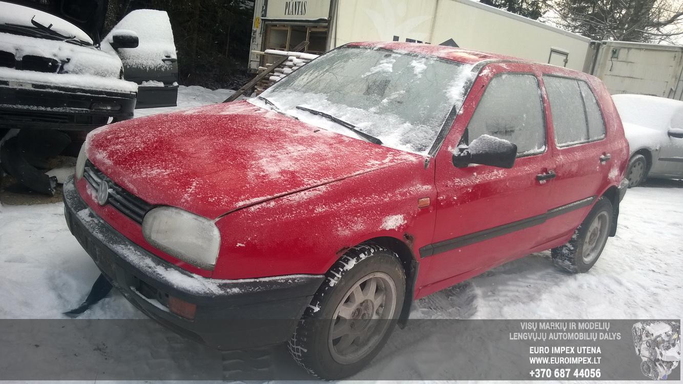 Volkswagen GOLF 1992 1.9 Mechaninė