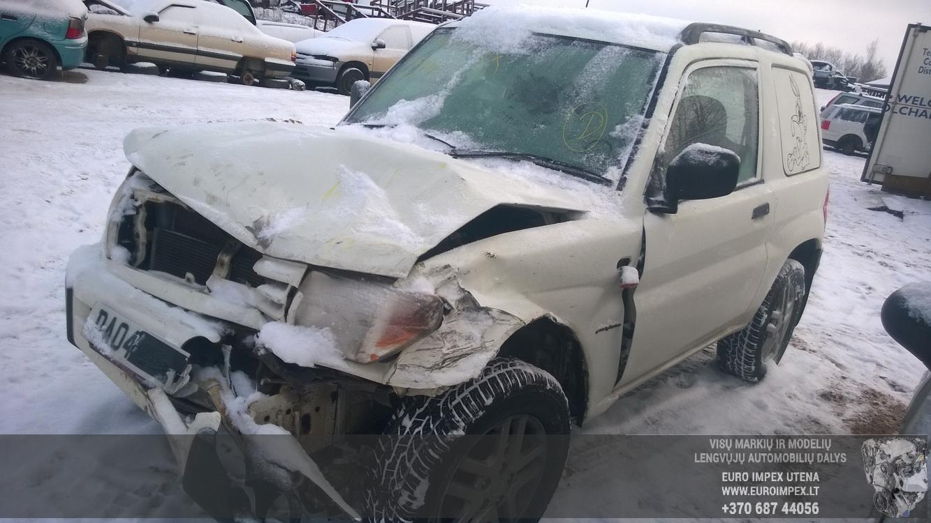 Naudotos automobilio dalys Mitsubishi PAJERO PININ 2004 1.8 Mechaninė Visureigis 2/3 d. Balta 2014-12-30