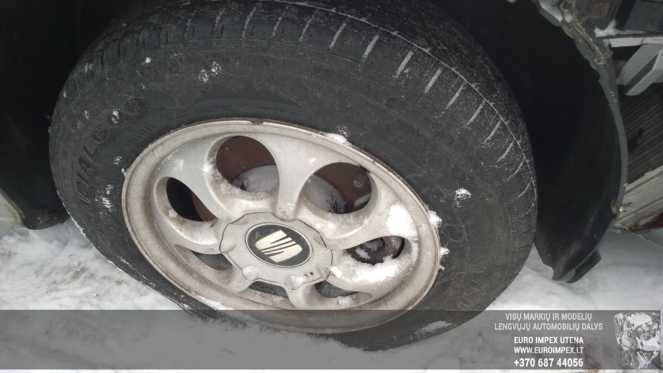 Naudotos automobiliu dallys Foto 4 Seat TOLEDO 2001 1.9 Mechaninė Sedanas 4/5 d. Pilka 2014-12-31 A1984