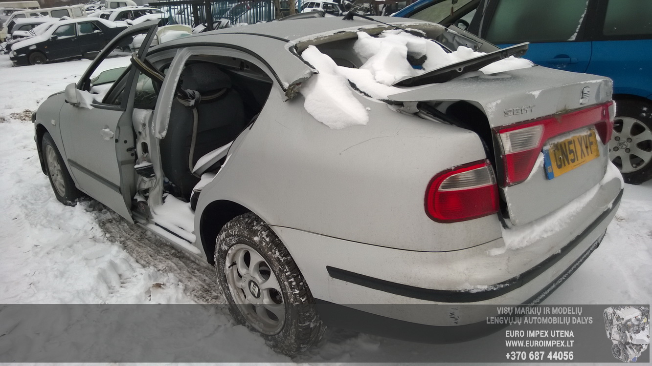 Naudotos automobiliu dallys Foto 7 Seat TOLEDO 2001 1.9 Mechaninė Sedanas 4/5 d. Pilka 2014-12-31 A1984