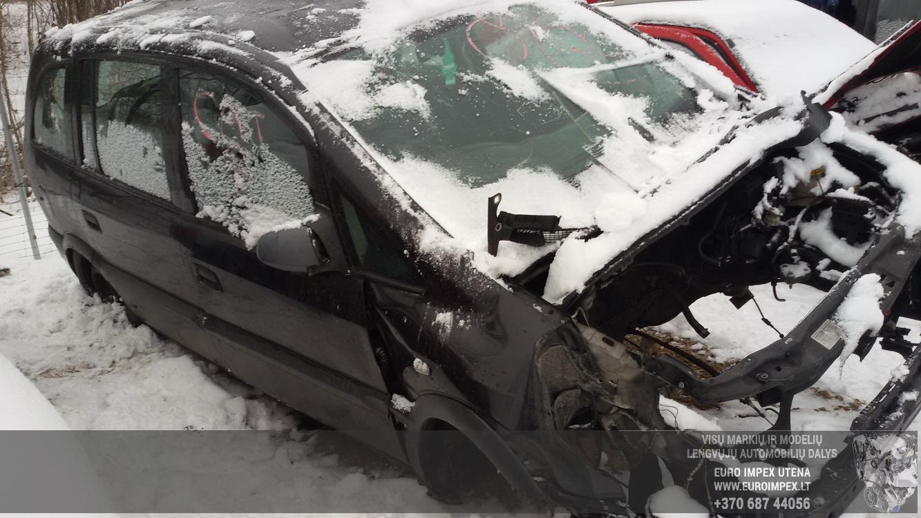 Naudotos automobiliu dallys Foto 3 Opel ZAFIRA 2000 1.8 Automatinė Vienatūris 4/5 d. Juoda 2015-1-26 A2059
