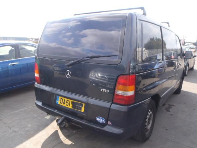 Naudotos automobiliu dallys Foto 3 Mercedes-Benz VITO 2001 2.2 Mechaninė Vienatūris 4/5 d. Juoda 2015-1-07 A2006