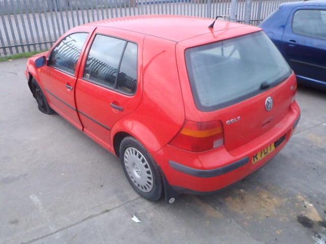 Naudotos automobiliu dallys Foto 2 Volkswagen GOLF 1998 1.9 Mechaninė Hačbekas 4/5 d. Raudona 2015-1-07 A1998