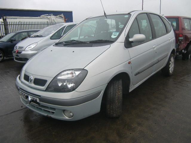 Naudotos automobiliu dallys Foto 1 Renault SCENIC 2003 1.9 Mechaninė Vienatūris 4/5 d. Pilka 2015-1-07 A2004