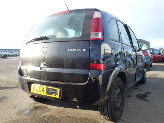 Naudotos automobiliu dallys Foto 3 Opel MERIVA 2004 1.6 Automatinė Hačbekas 4/5 d. Juoda 2015-1-07 A2002