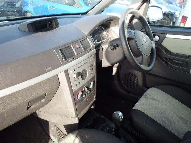 Naudotos automobiliu dallys Foto 5 Opel MERIVA 2004 1.6 Automatinė Hačbekas 4/5 d. Juoda 2015-1-07 A2002