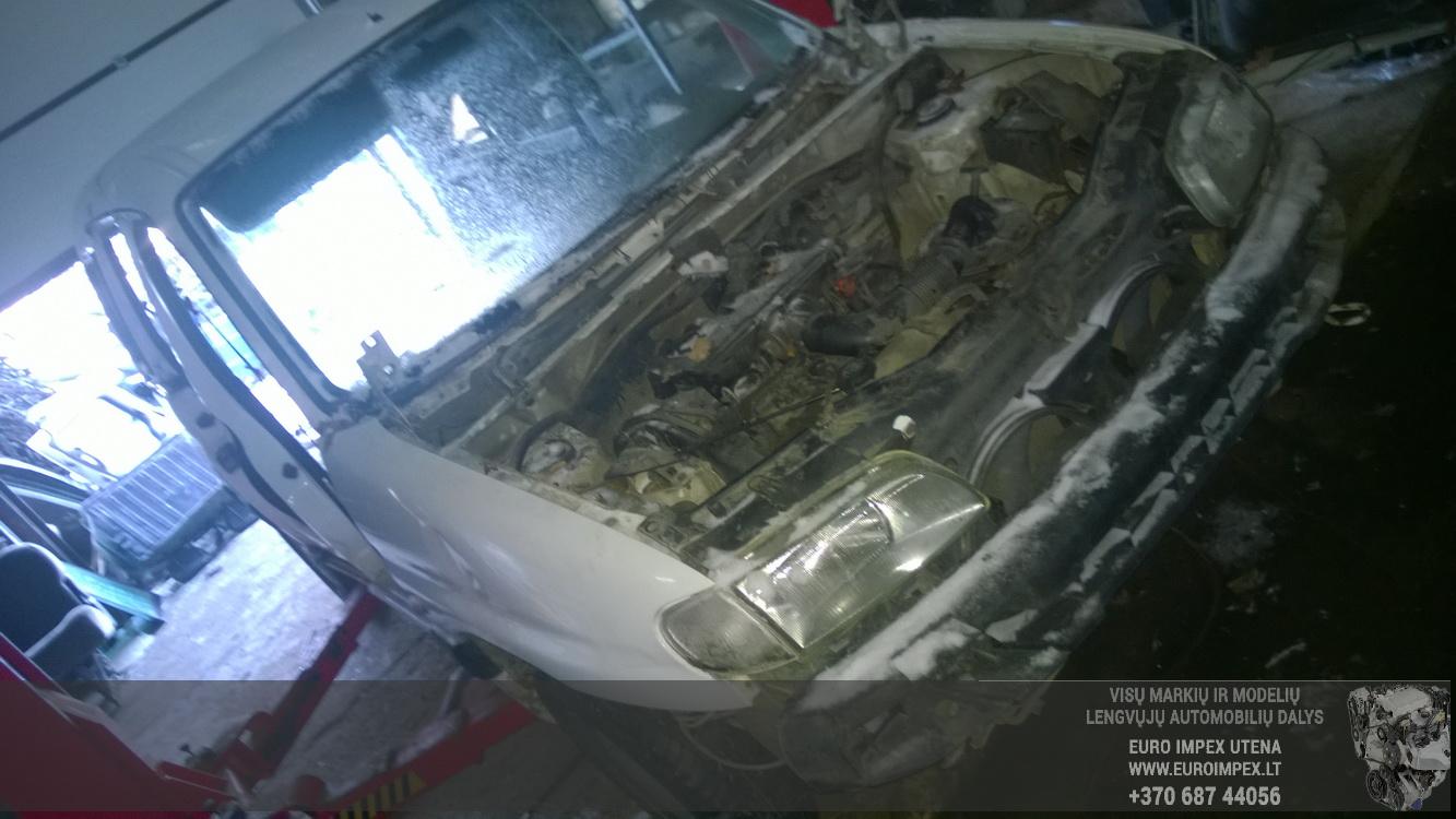 Citroen BERLINGO 2000 1.9 Mechaninė