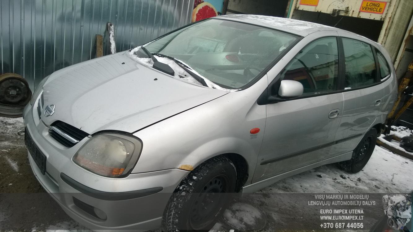Nissan ALMERA TINO 2002 2.2 Mechaninė