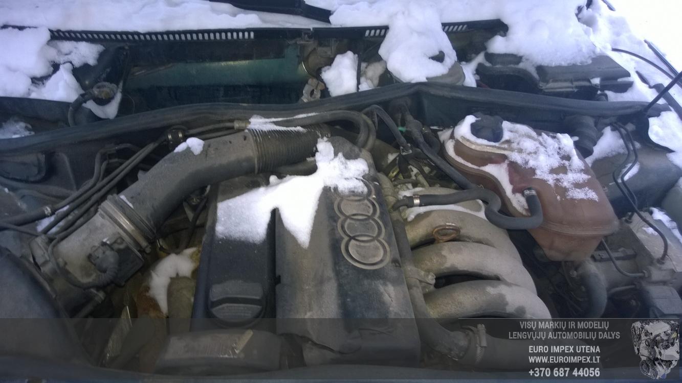 Naudotos automobiliu dallys Foto 8 Audi A4 1995 1.6 Mechaninė Sedanas 4/5 d. Zalia 2015-1-10 A2030