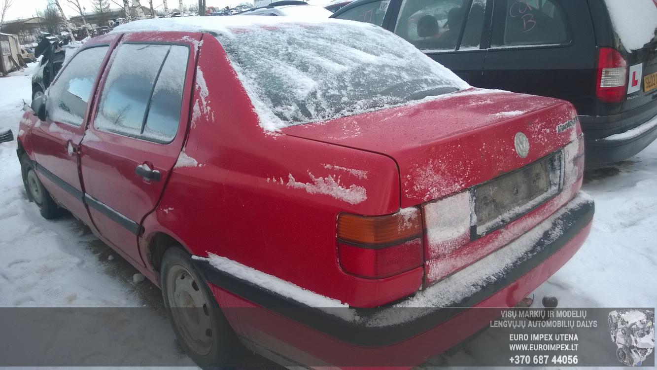 Naudotos automobilio dalys Volkswagen VENTO 1993 1.9 Mechaninė Sedanas 4/5 d. Raudona 2015-1-12