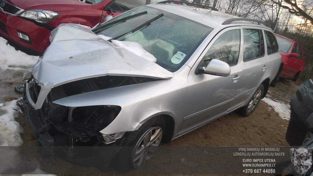 Naudotos automobilio dalys Skoda OCTAVIA 2011 1.6 Mechaninė Universalas 4/5 d. Pilka 2015-1-14