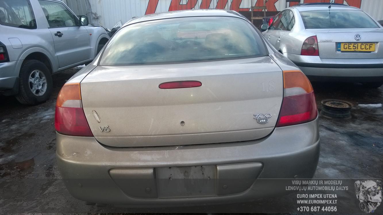 Naudotos automobiliu dallys Foto 7 Chrysler 300M 2000 3.5 Automatinė Sedanas 4/5 d. Pilka 2015-1-14 A2048