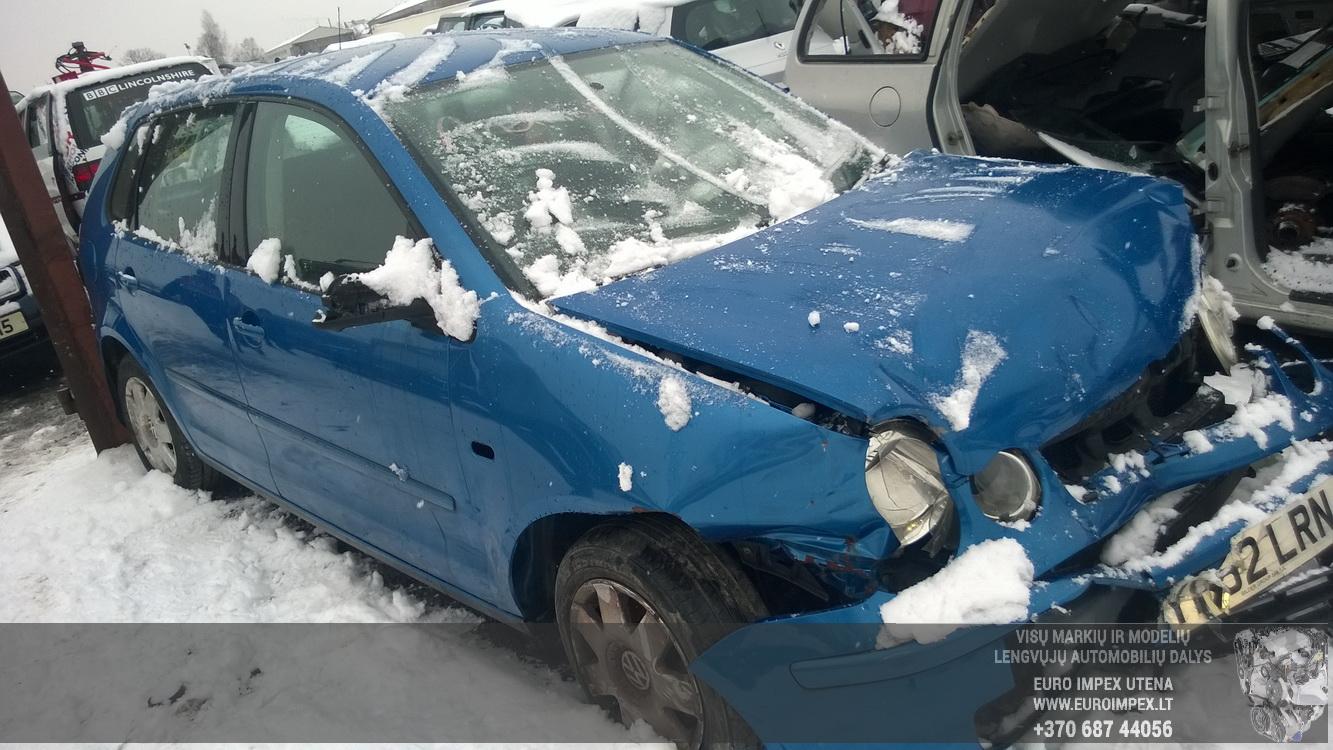Volkswagen POLO 2002 1.4 Mechaninė