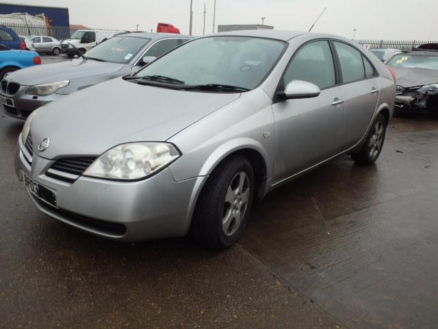 Nissan PRIMERA 2003 1.8 машиностроение