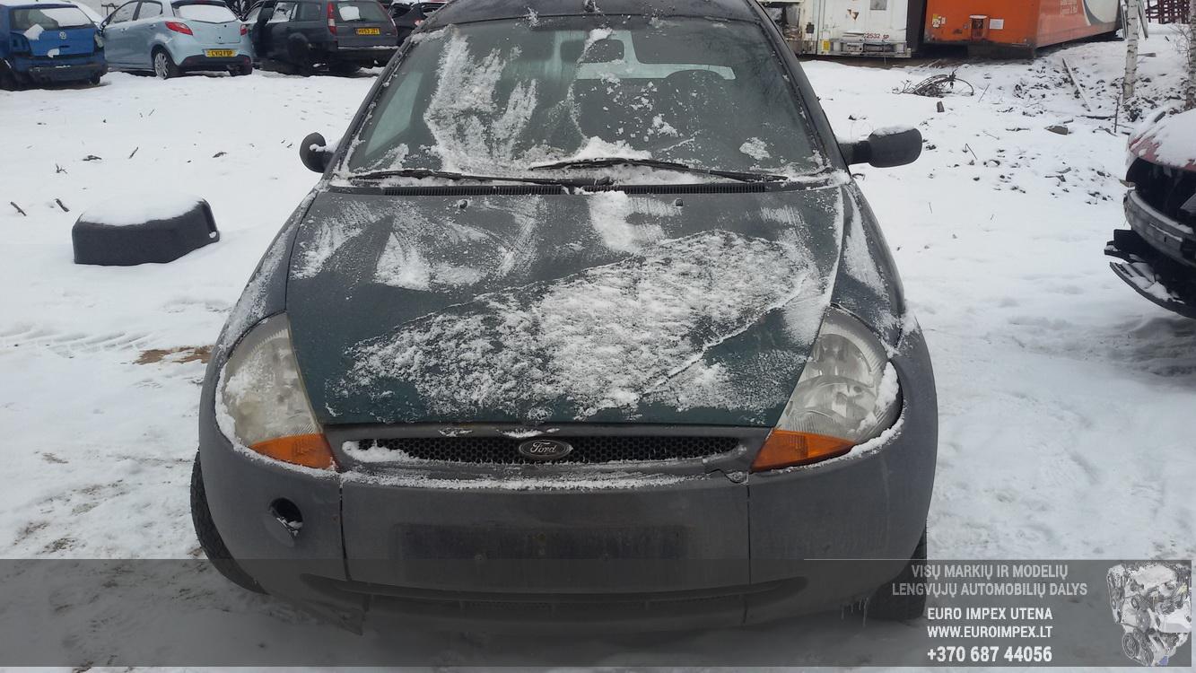 Naudotos automobilio dalys Ford KA 1997 1.3 Mechaninė Hačbekas 2/3 d. Zalia 2015-2-06