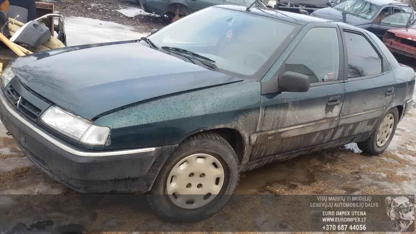Naudotos automobilio dalys Citroen XANTIA 1994 1.8 Mechaninė Hačbekas 4/5 d. Zalia 2015-2-23