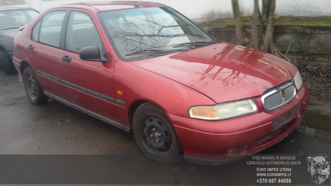 Naudotos automobilio dalys Rover 400-SERIES 1997 1.6 Mechaninė Hačbekas 4/5 d. Raudona 2015-2-23