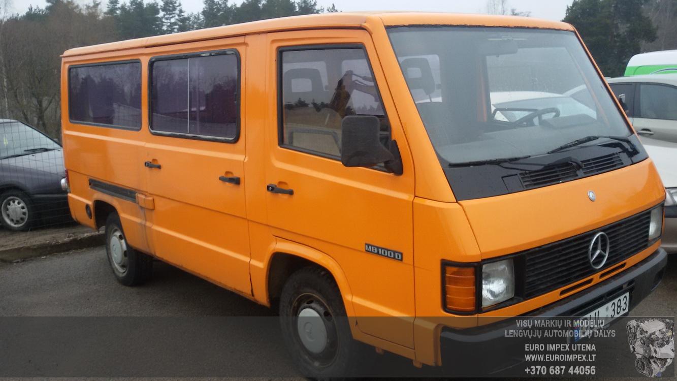 Naudotos automobilio dalys Mercedes-Benz 100 1990 2.4 Mechaninė Krovininis mikroautobusas 4/5 d. Oranzine 2015-2-24