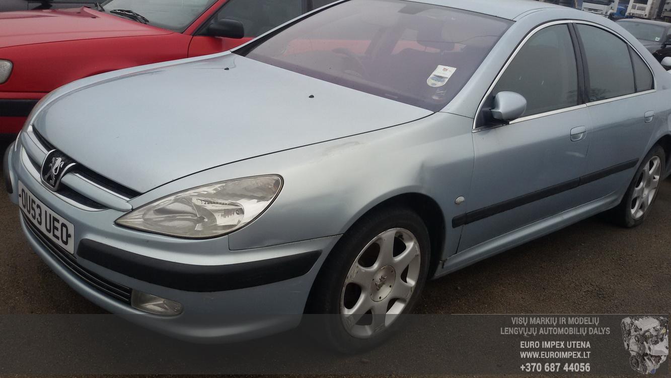 Naudotos automobilio dalys Peugeot 607 2003 2.0 Mechaninė Sedanas 4/5 d. Pilka 2015-2-24