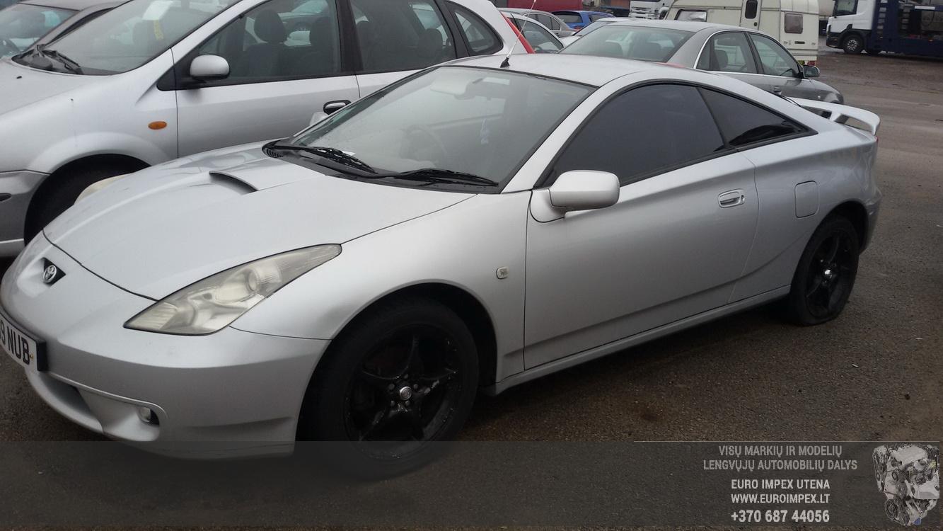 Naudotos automobilio dalys Toyota CELICA 2001 1.8 Mechaninė Kupė 2/3 d. Pilka 2015-2-24