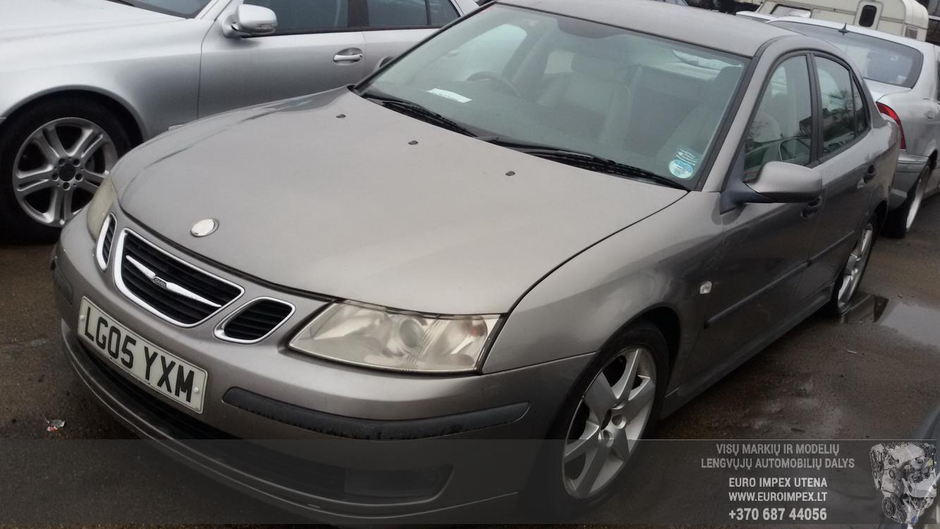 Naudotos automobilio dalys SAAB 9-3 2005 1.9 Mechaninė Sedanas 4/5 d. Pilka 2015-2-24