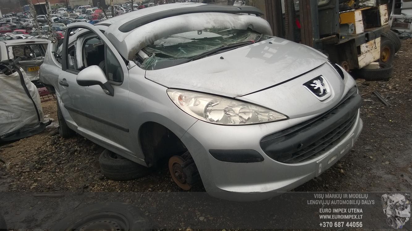 Naudotos automobiliu dallys Foto 3 Peugeot 207 2008 1.4 Mechaninė Hačbekas 2/3 d. Pilka 2015-2-25 A2134