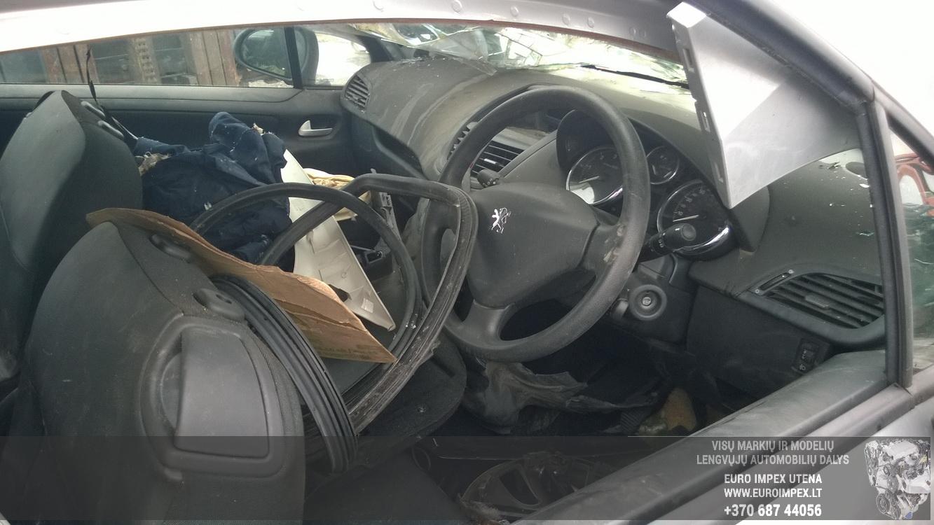 Naudotos automobiliu dallys Foto 5 Peugeot 207 2008 1.4 Mechaninė Hačbekas 2/3 d. Pilka 2015-2-25 A2134