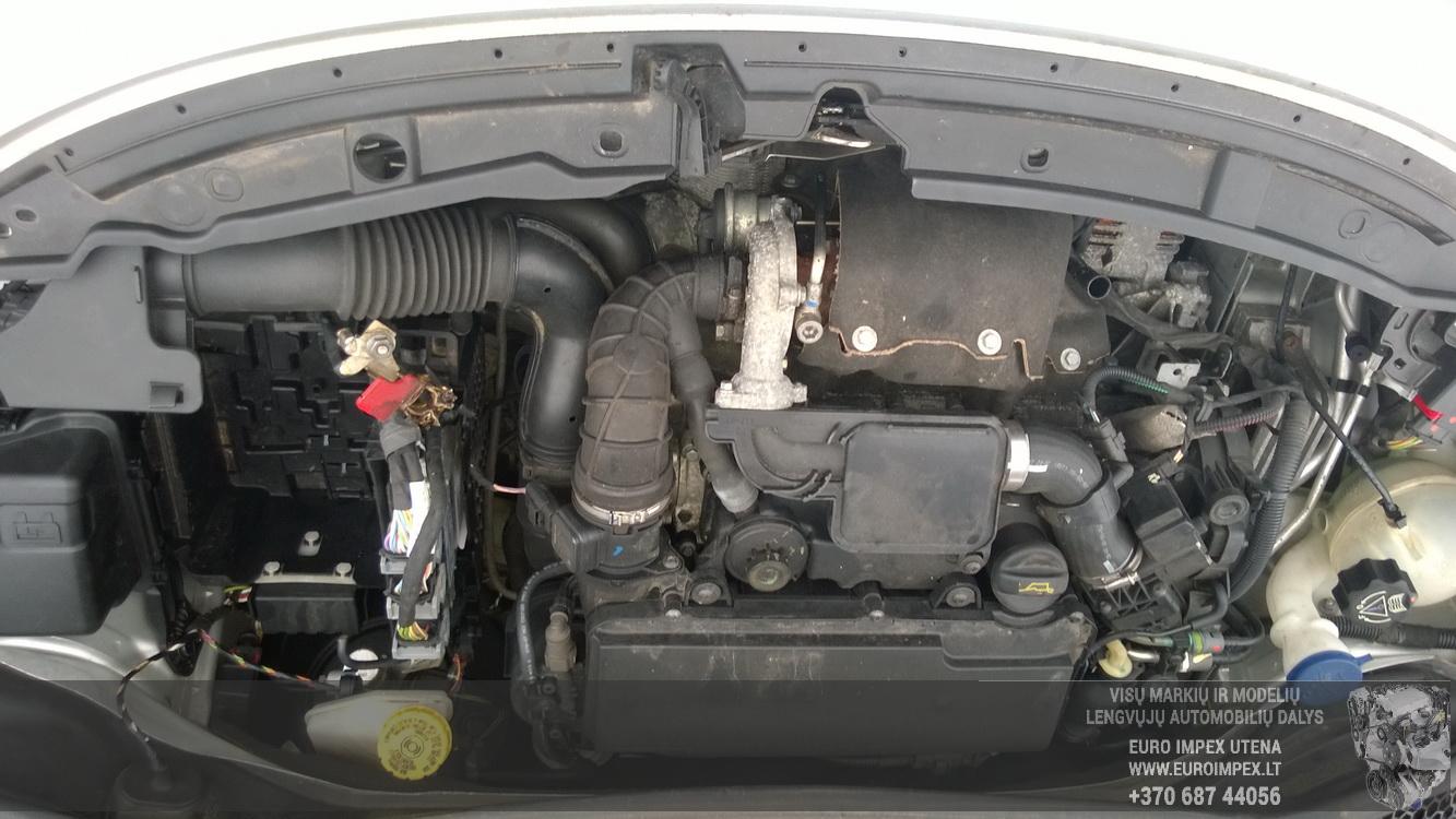 Naudotos automobiliu dallys Foto 8 Peugeot 207 2008 1.4 Mechaninė Hačbekas 2/3 d. Pilka 2015-2-25 A2134