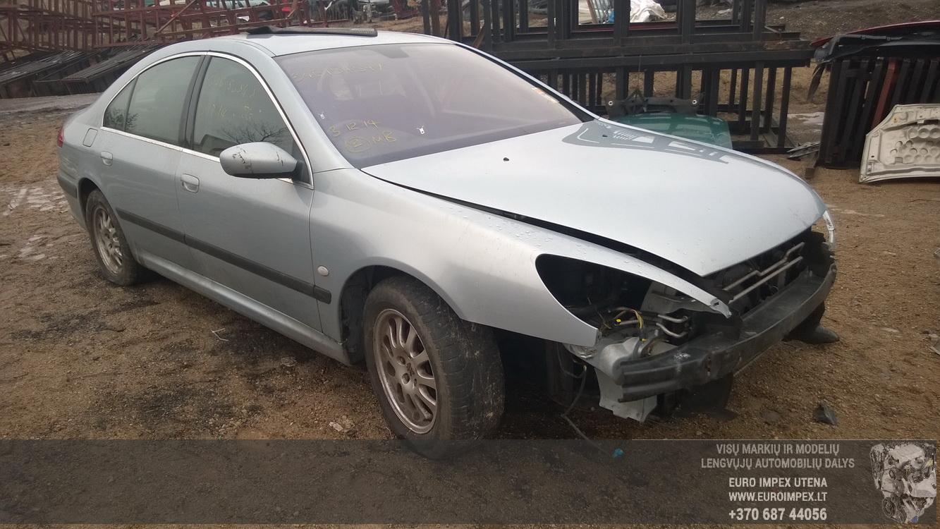 Naudotos automobilio dalys Peugeot 607 2004 2.0 Mechaninė Sedanas 4/5 d. Pilka 2015-2-25