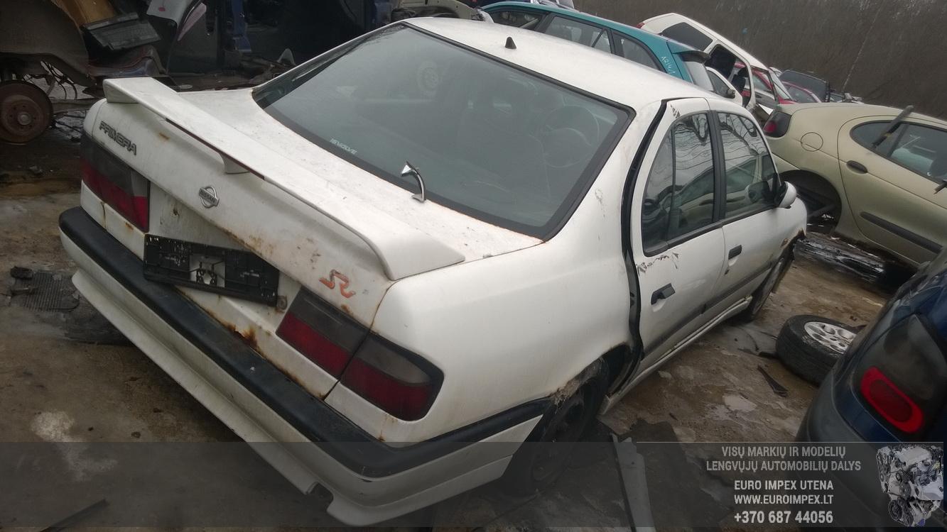 Naudotos automobilio dalys Nissan PRIMERA 1994 1.6 Mechaninė Sedanas 4/5 d. Balta 2015-2-26