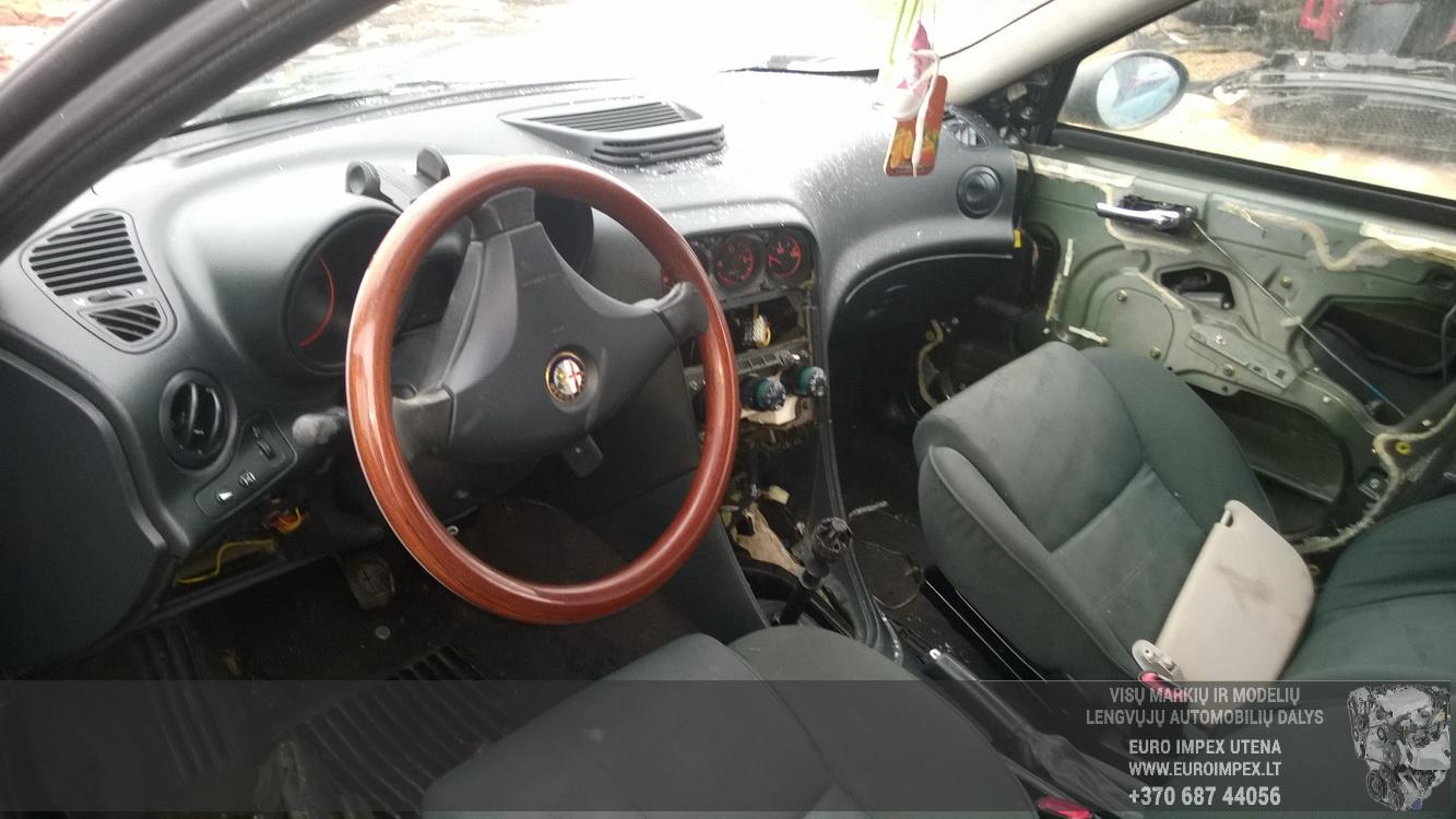 Naudotos automobilio dalys Alfa-Romeo 156 1999 2.4 Mechaninė Sedanas 4/5 d. Pilka 2015-2-26