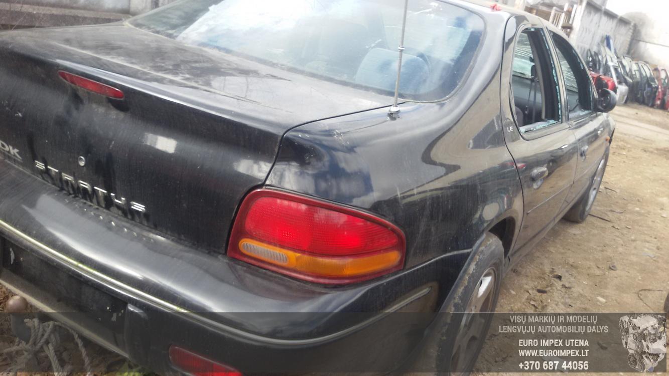 Naudotos automobilio dalys Chrysler STRATUS 1997 2.5 Mechaninė Sedanas 4/5 d. Juoda 2015-3-19