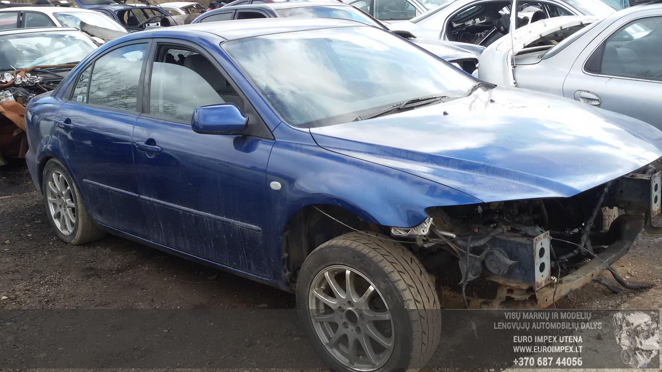 Mazda 6 2003 2.0 Mechaninė