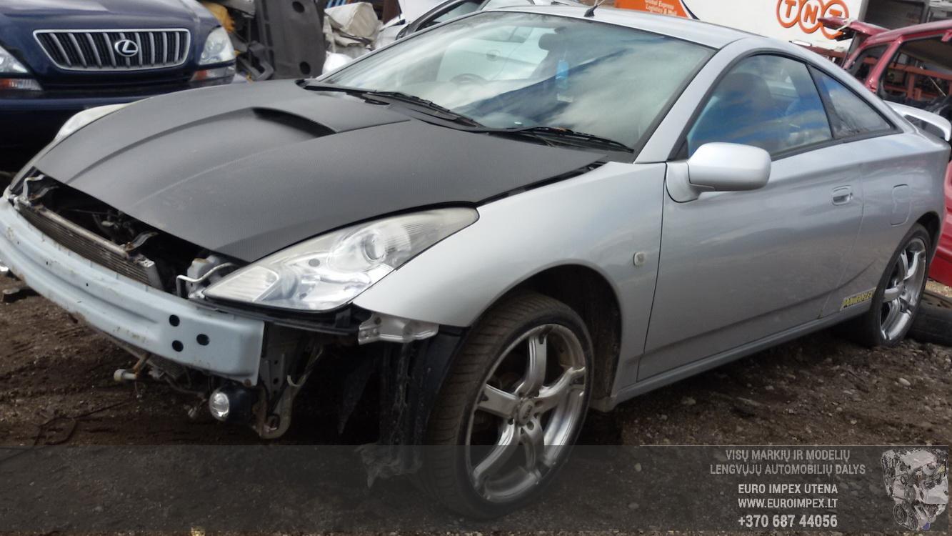 Naudotos automobilio dalys Toyota CELICA 2001 1.8 Mechaninė Kupė 2/3 d. Pilka 2015-3-12