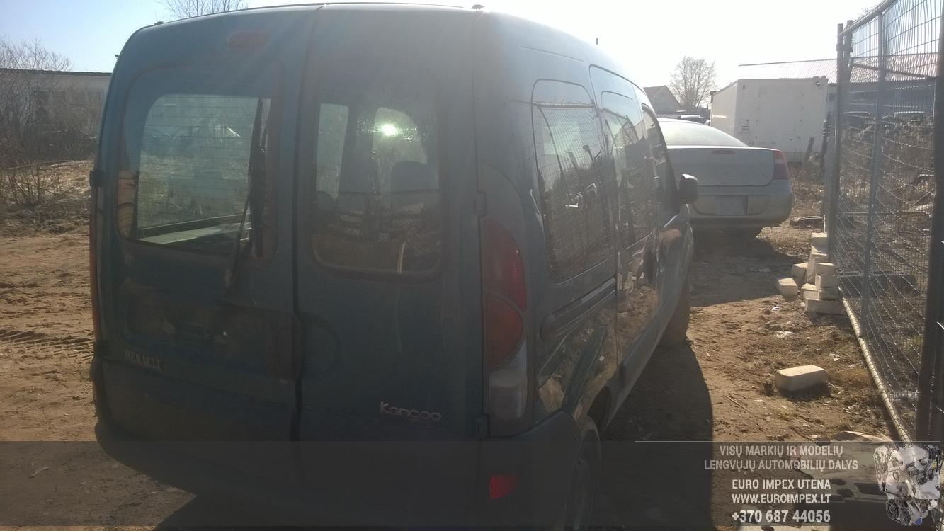 Naudotos automobilio dalys Renault KANGOO 2002 1.9 Mechaninė Komercinis 2/3 d. Zalia 2015-3-19