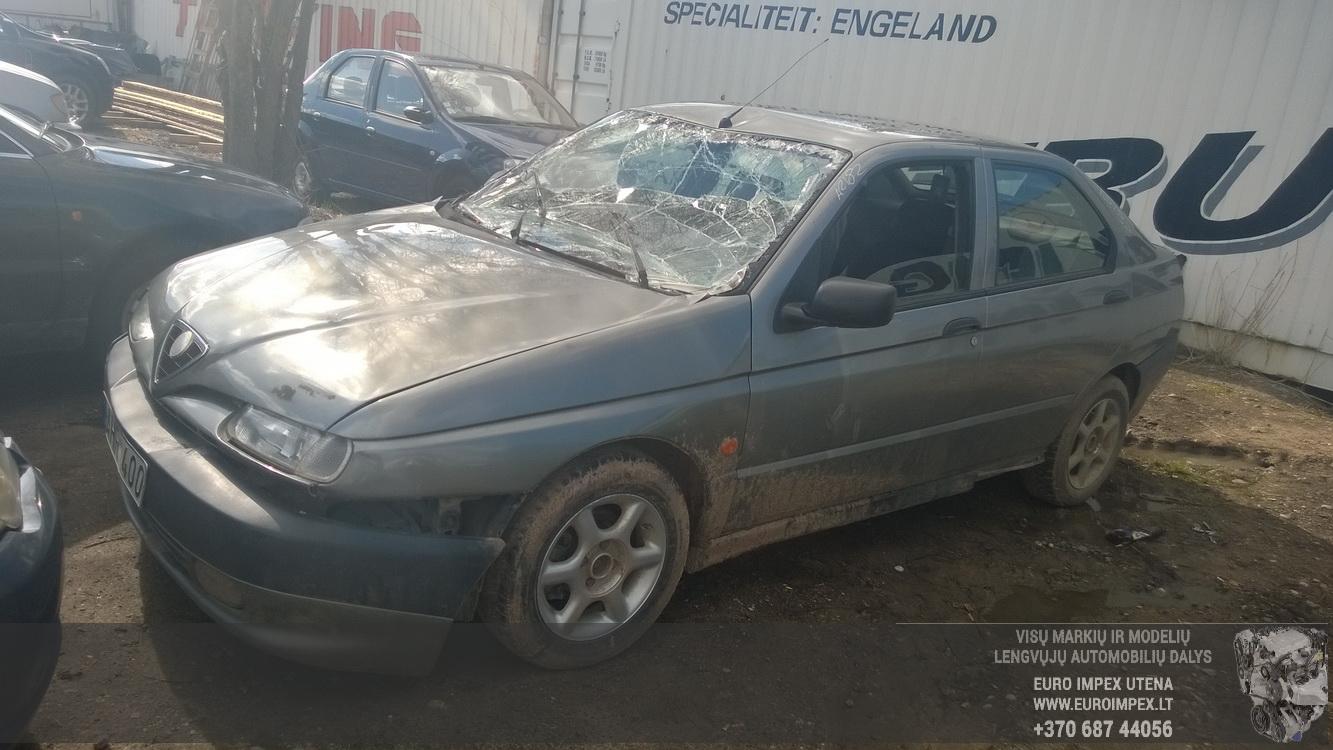 Naudotos automobilio dalys Alfa-Romeo 146 1997 1.9 Mechaninė Hačbekas 4/5 d. Pilka 2015-4-14