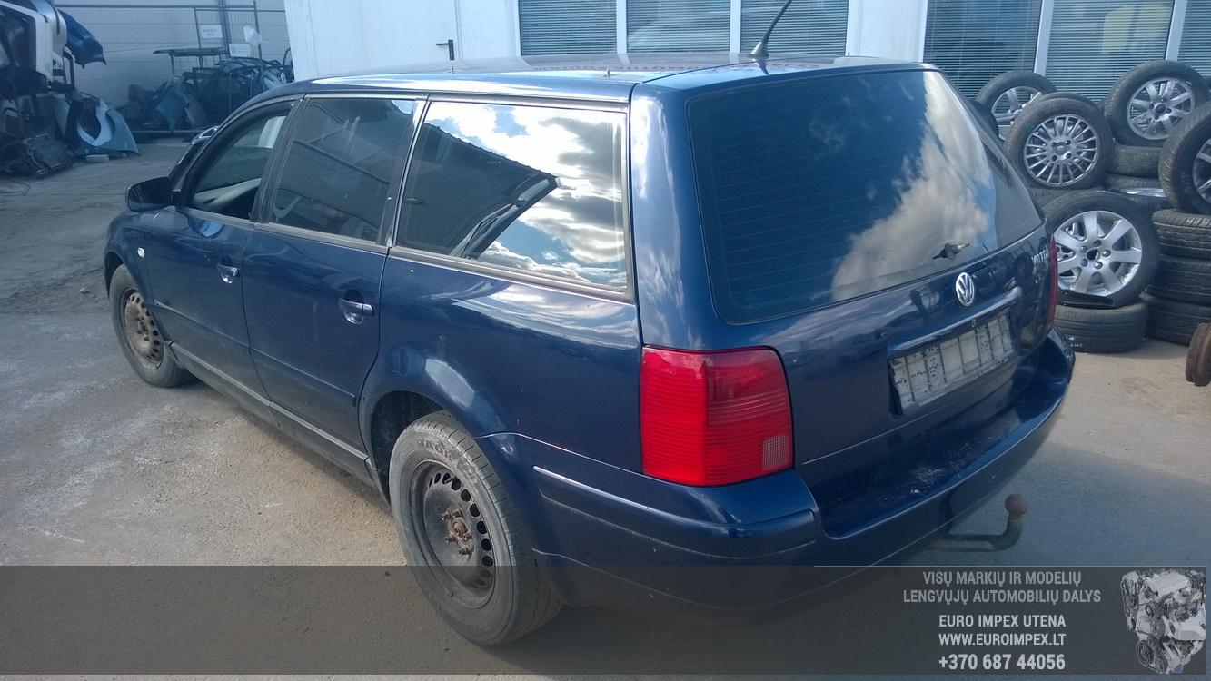 Naudotos automobilio dalys Volkswagen PASSAT 1999 2.5 Mechaninė Universalas 4/5 d. Melyna 2015-4-14