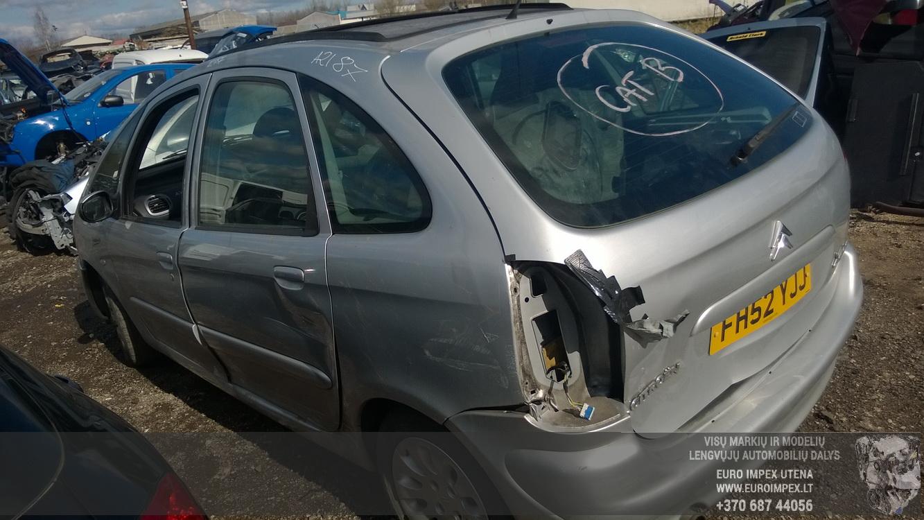 Naudotos automobiliu dallys Foto 5 Citroen XSARA PICASSO 2002 2.0 Mechaninė Vienatūris 4/5 d. Pilka 2015-4-14 A2187
