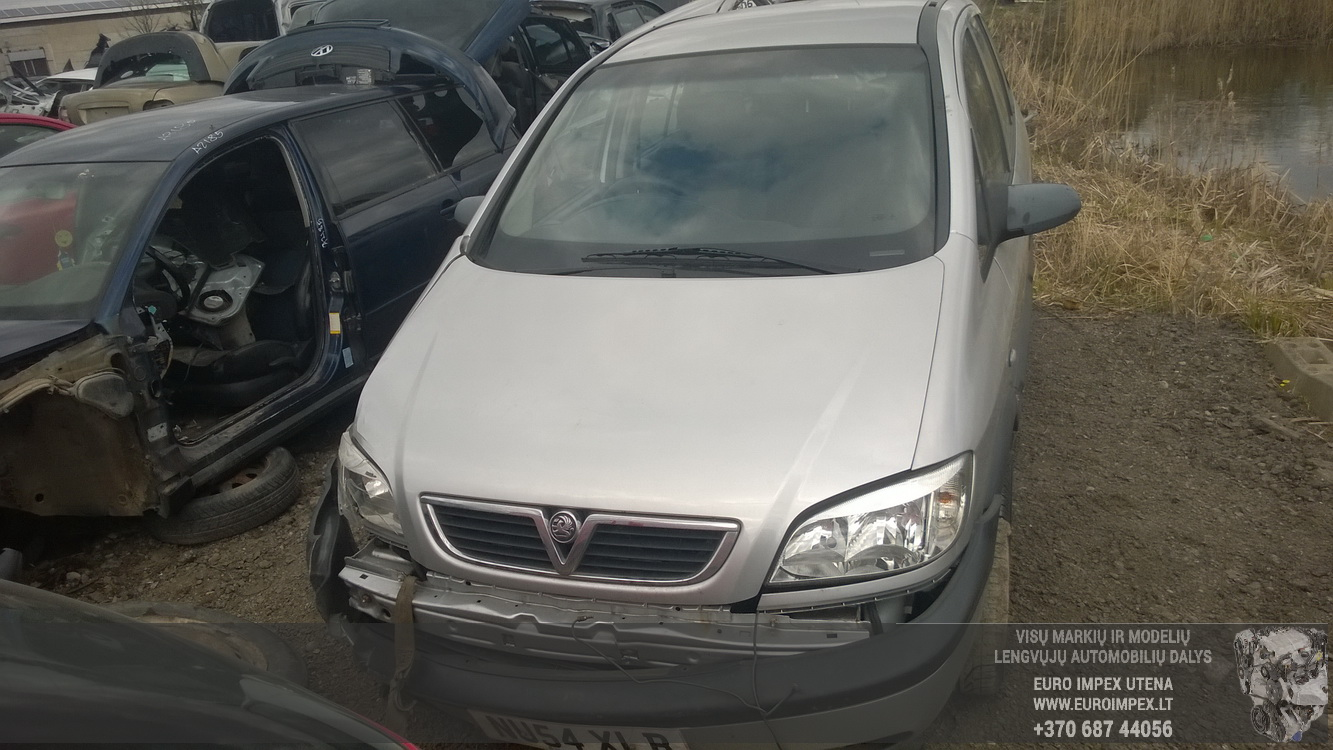 Naudotos automobiliu dallys Foto 2 Opel ZAFIRA 2004 2.0 Mechaninė Vienatūris 4/5 d. Pilka 2015-4-23 A2193