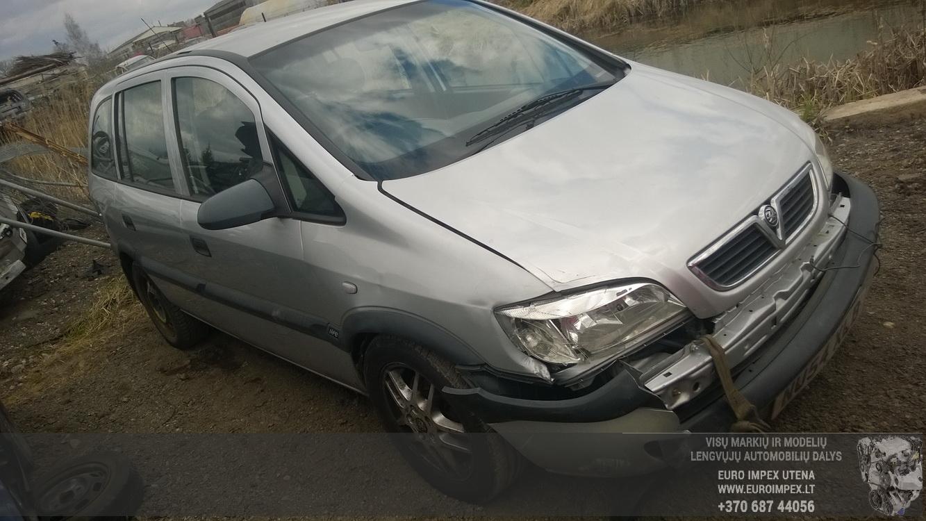 Naudotos automobiliu dallys Foto 3 Opel ZAFIRA 2004 2.0 Mechaninė Vienatūris 4/5 d. Pilka 2015-4-23 A2193