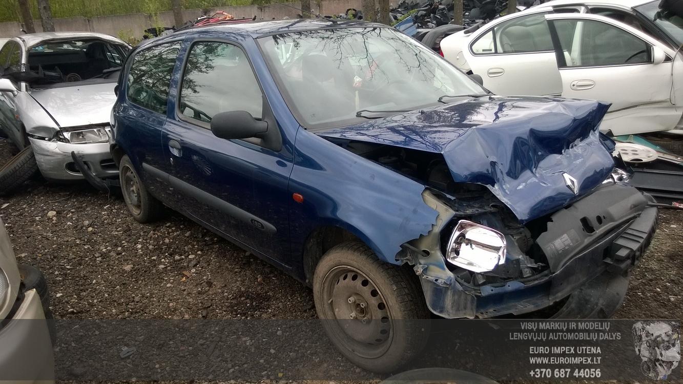 Renault CLIO 2001 1.9 Mechaninė