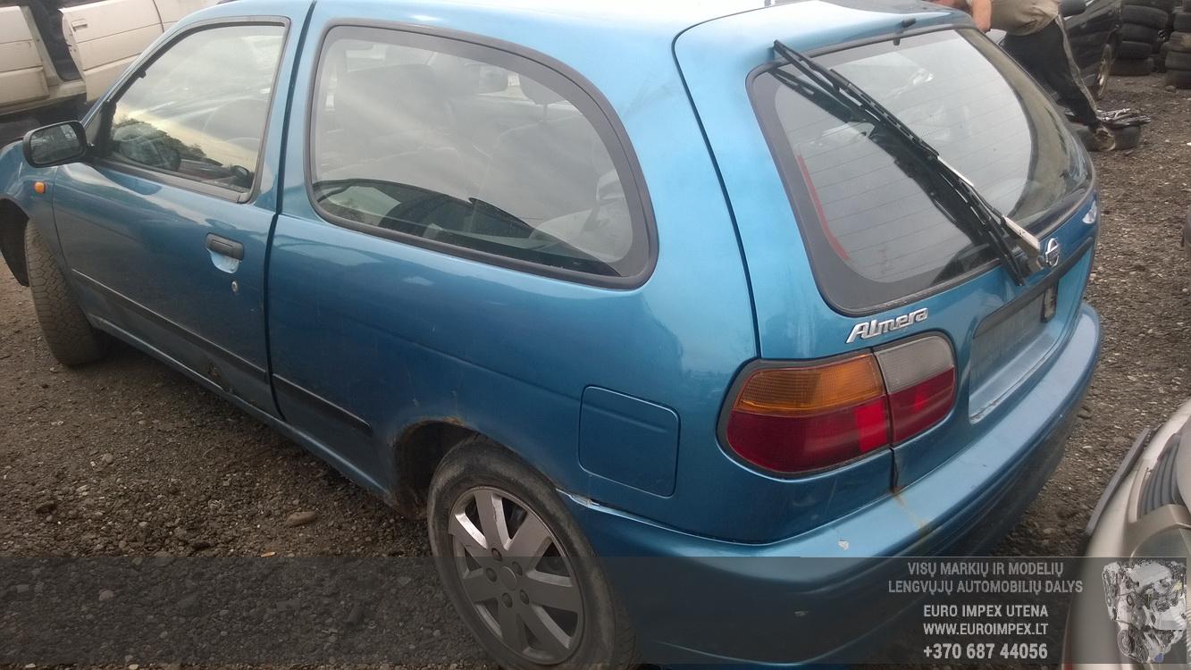 Naudotos automobiliu dallys Foto 6 Nissan ALMERA 1996 2.0 Mechaninė Hačbekas 2/3 d. Melyna 2015-5-18 A2208