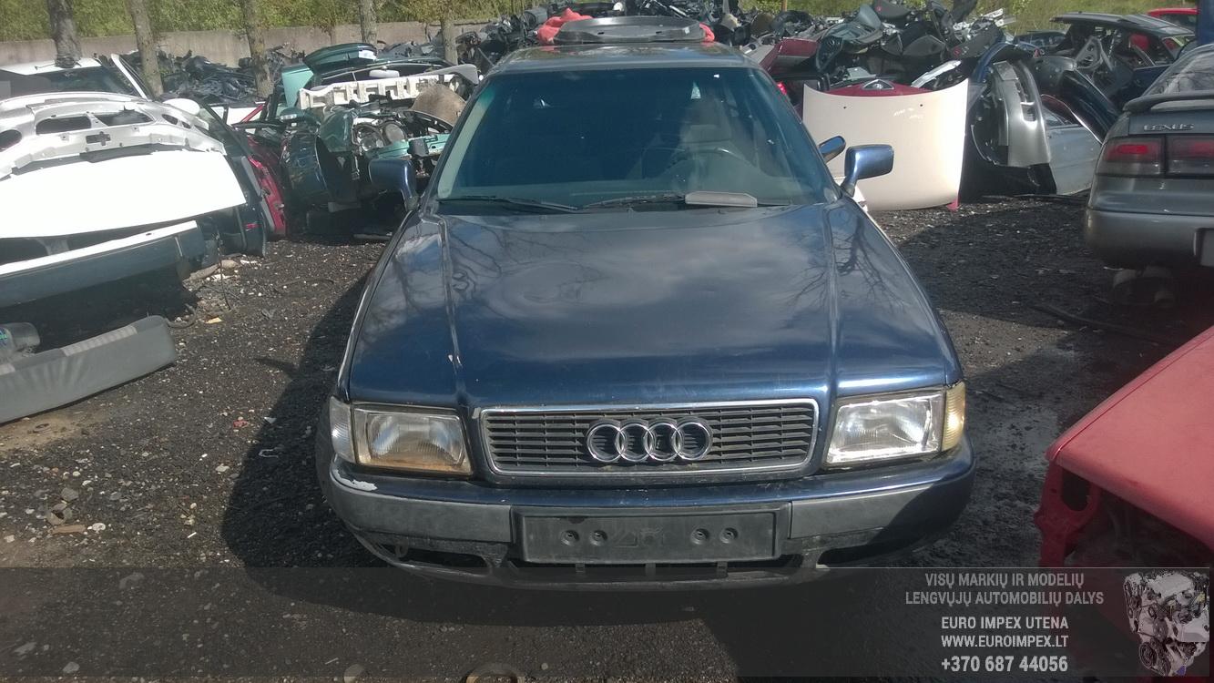 Naudotos automobiliu dallys Foto 2 Audi 80 1993 2.0 Mechaninė Universalas 4/5 d. Melyna 2015-5-18 A2212
