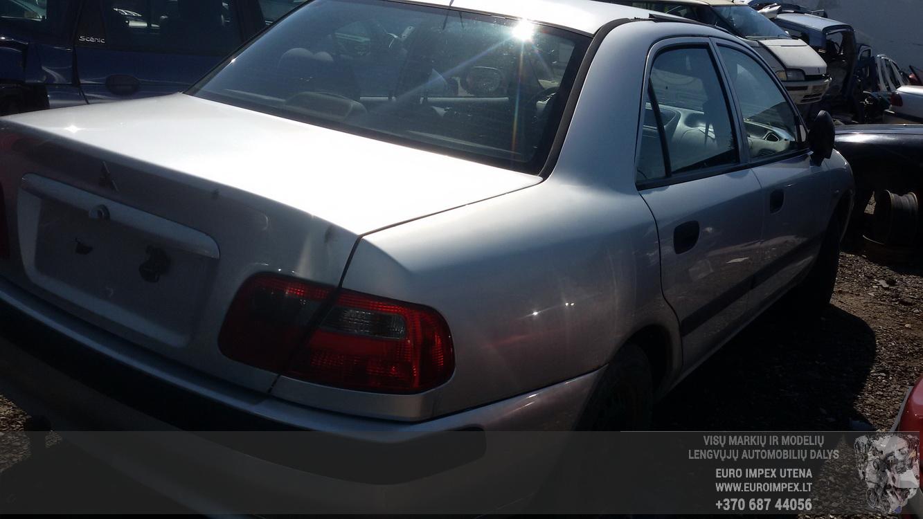 Naudotos automobilio dalys Mitsubishi CARISMA 1999 1.9 Mechaninė Sedanas 4/5 d. Pilka 2015-6-02