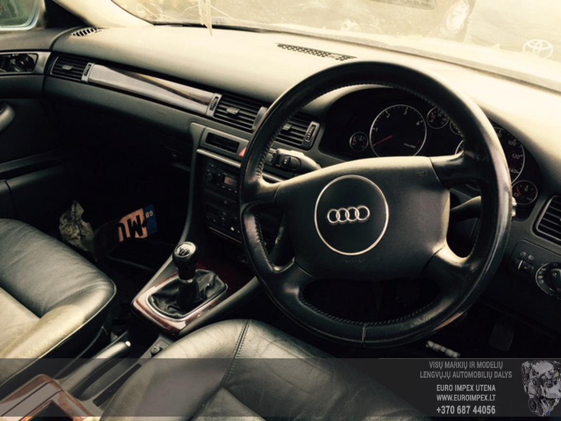 Naudotos automobiliu dallys Foto 2 Audi A6 2003 1.9 Mechaninė Sedanas 4/5 d. Zydra 2015-6-25 A2246