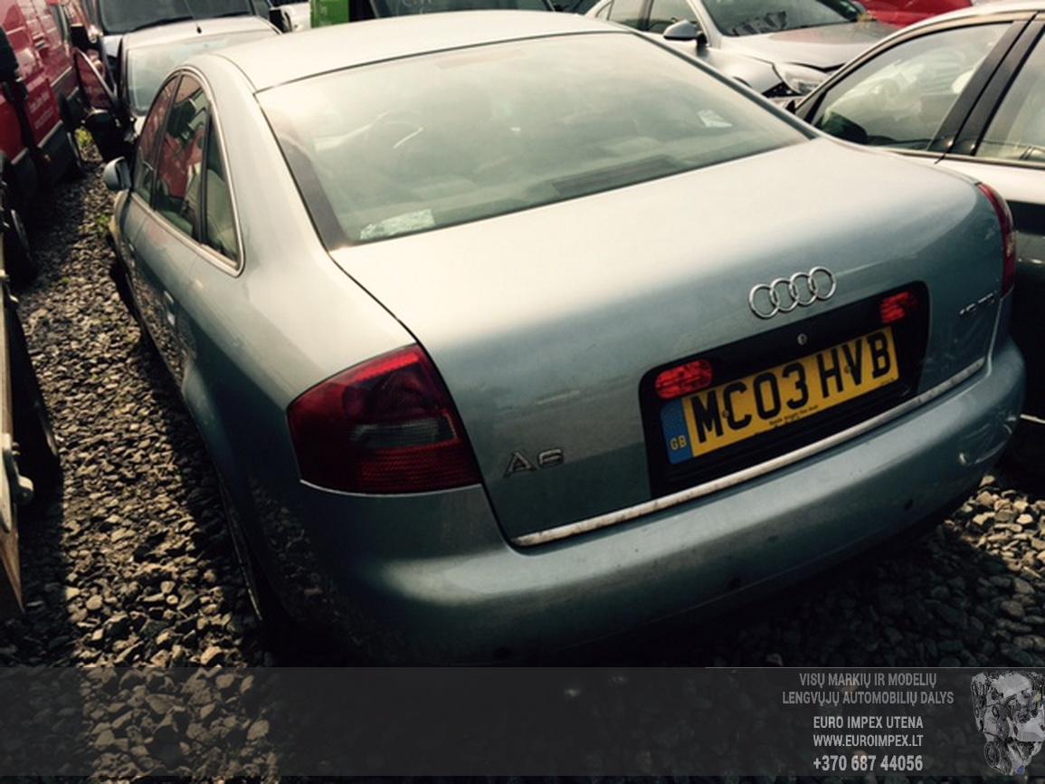 Naudotos automobiliu dallys Foto 3 Audi A6 2003 1.9 Mechaninė Sedanas 4/5 d. Zydra 2015-6-25 A2246