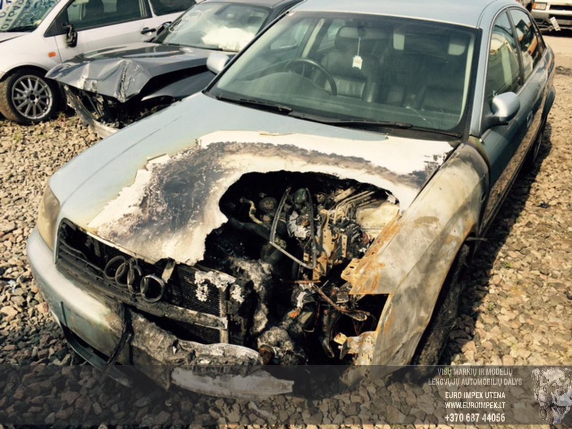 Naudotos automobiliu dallys Foto 5 Audi A6 2003 1.9 Mechaninė Sedanas 4/5 d. Zydra 2015-6-25 A2246