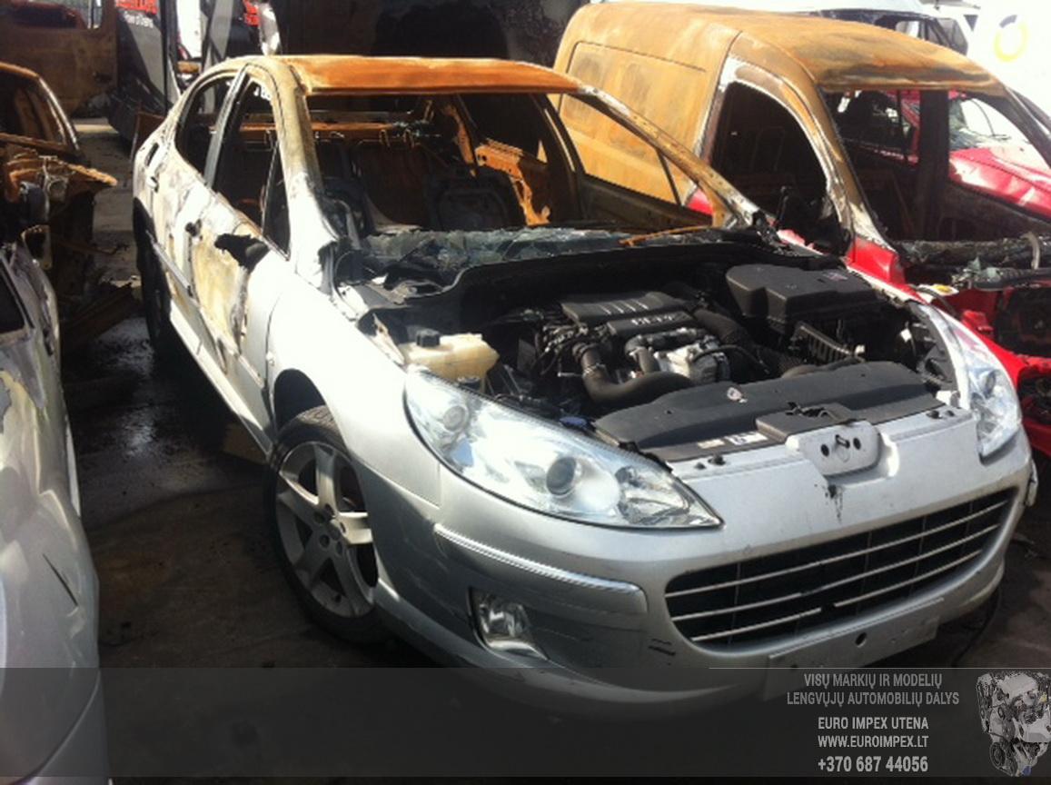 Naudotos automobilio dalys Peugeot 407 2006 1.6 Mechaninė Sedanas 4/5 d. Pilka 2015-6-25