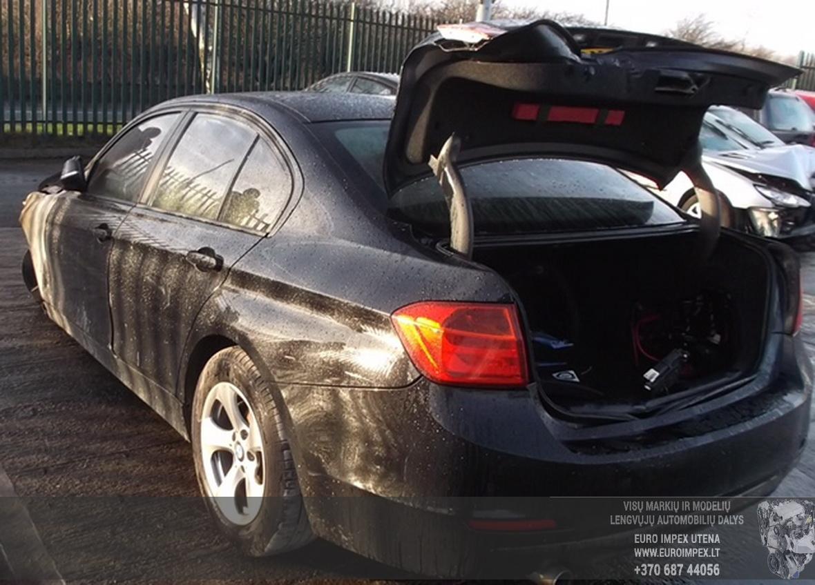 Naudotos automobiliu dallys Foto 2 BMW 3-SERIES 2012 2.0 Automatinė Sedanas 4/5 d. Juoda 2015-6-25 A2244